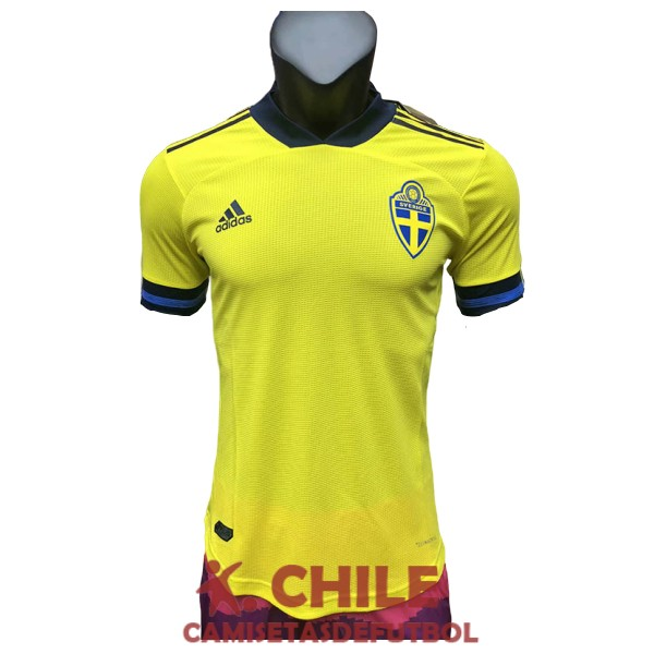 camiseta 2020 suecia primera version player