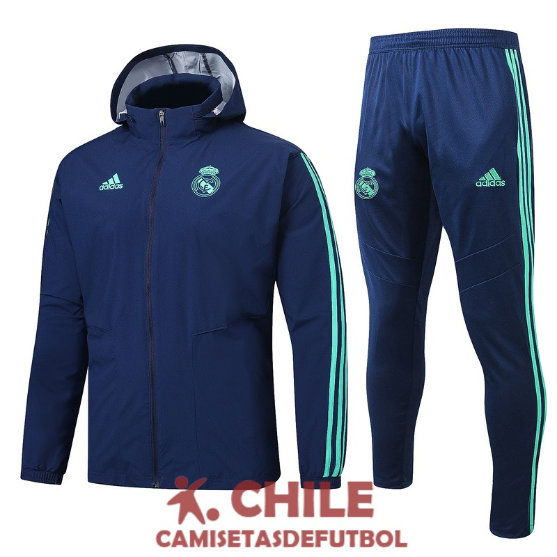 azul oscuro 2019-2020 rompevientos real madrid
