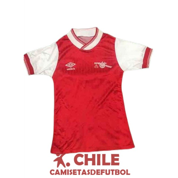 camiseta retro primera 1984-1985 arsenal