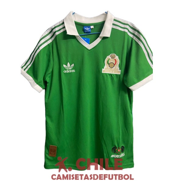 camiseta retro primera 1986 mexico