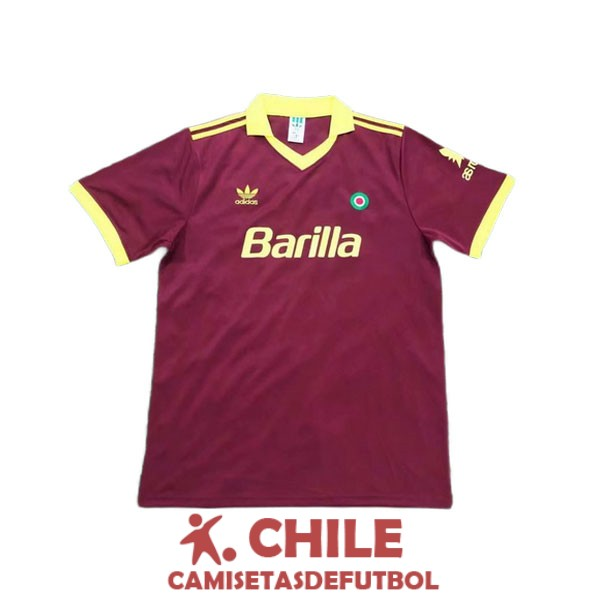 camiseta retro primera 1991-1992 as roma