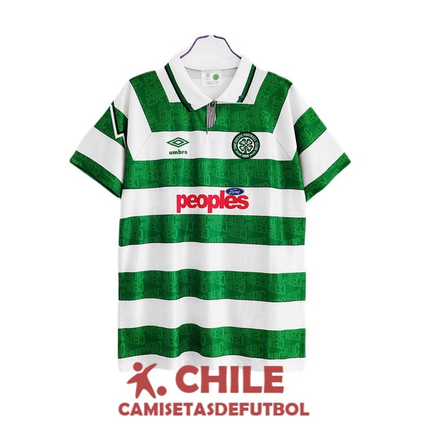 camiseta retro primera 1991-1992 celtic