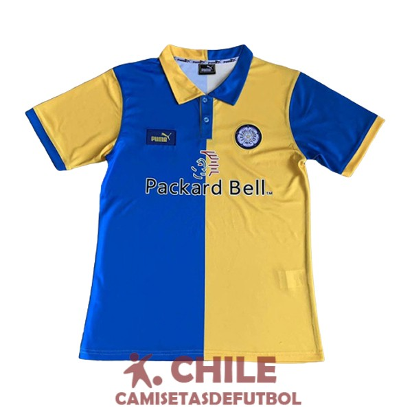 camiseta retro primera 1997-1999 leeds united