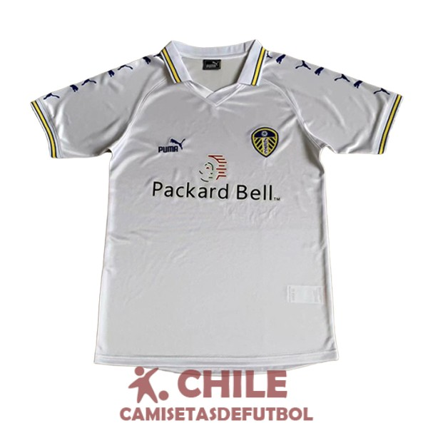 camiseta retro primera 1998-2000 leeds united