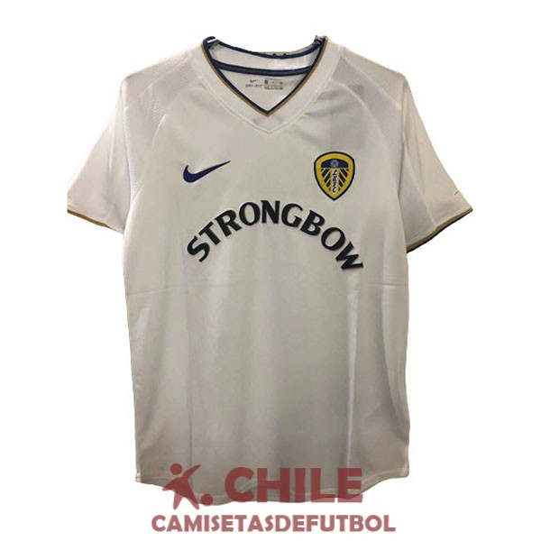 camiseta retro primera 2000-2002 leeds united