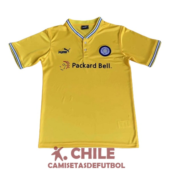 camiseta retro segunda 1996-1998 leeds united