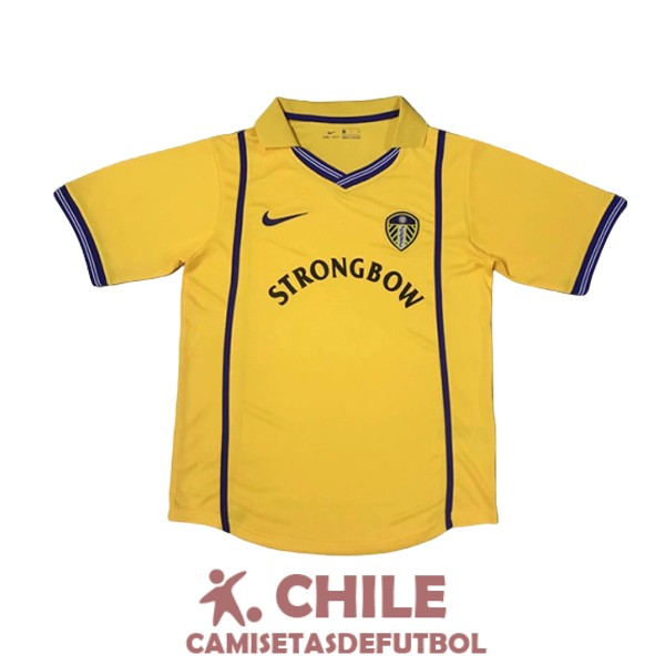 camiseta retro segunda 2000-2002 leeds united