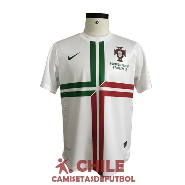 camiseta retro segunda 2012-2013 portugal