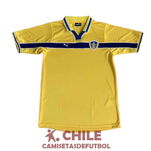 camiseta retro tercera 1999 leeds united
