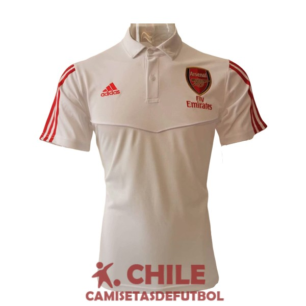 polo 2020-2021 arsenal blanco