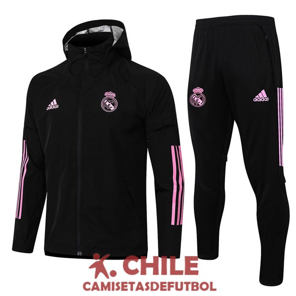 rosa negro 2020-2021 rompevientos real madrid